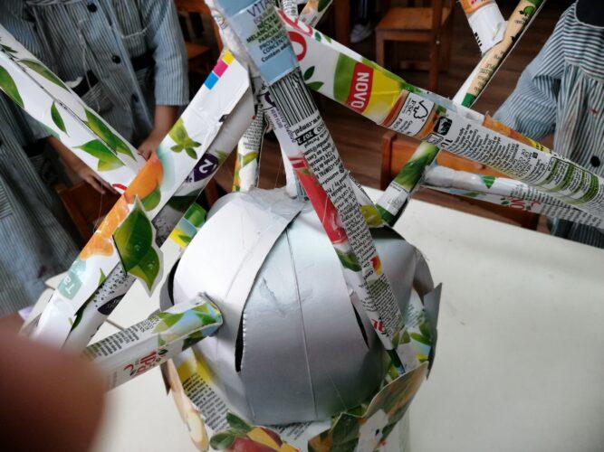 Foto 4 - Construção máscara e marca FSC