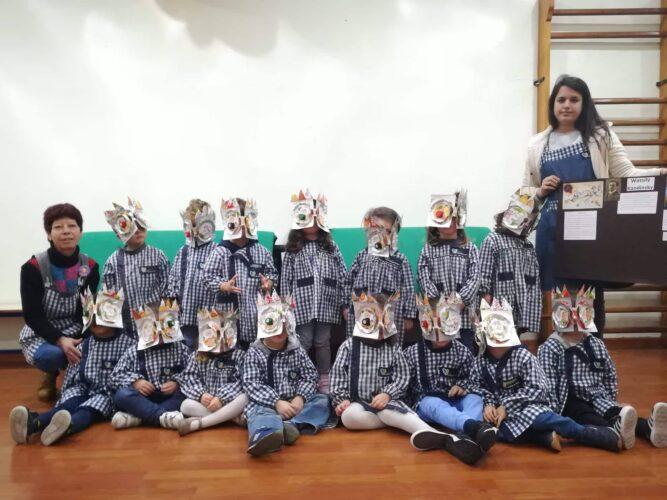 Apresentação à comunidade escolar no Dia Eco-escolas