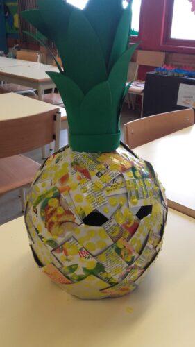 Resultado - Máscara em forma de Ananás