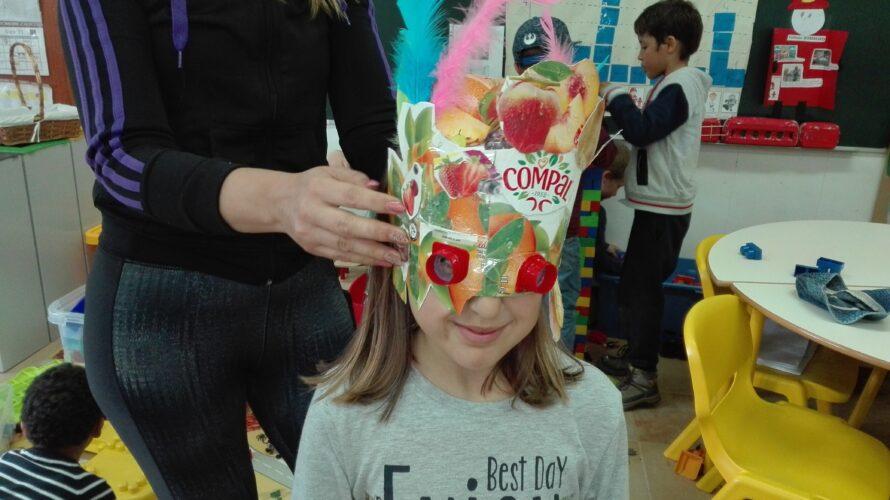 Eis, a nossa máscara Multi-Frutos Compal