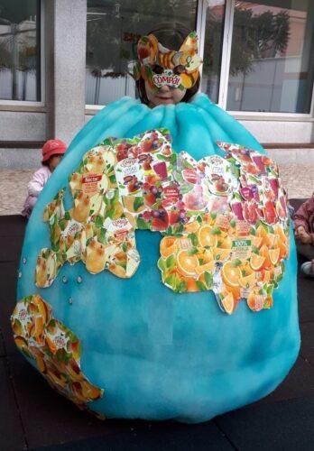 Máscara : O Planeta das frutas