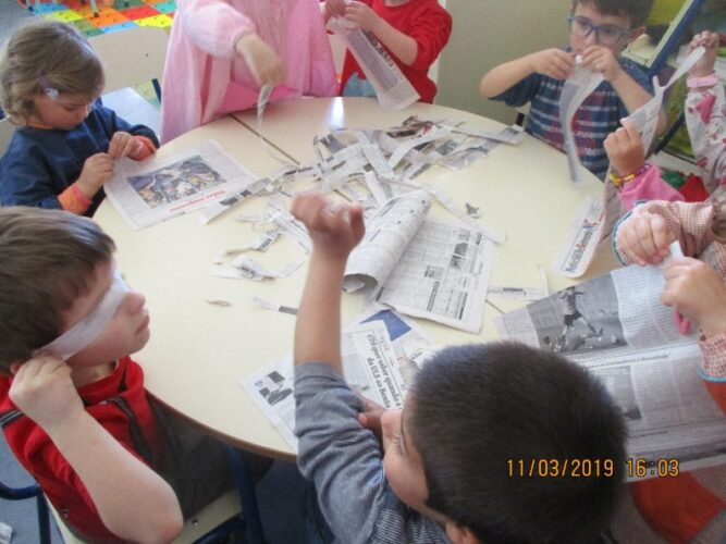 Rasgar jornal