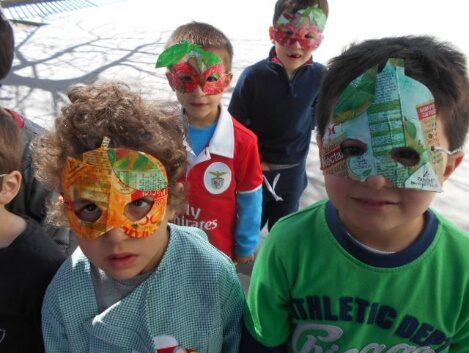 Outras máscaras das embalagens restantes