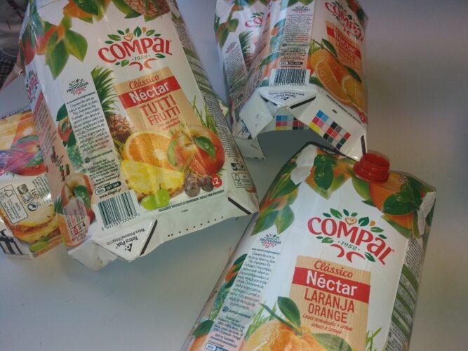 Embalagens<br/>Recolha e preparação das embalagens.