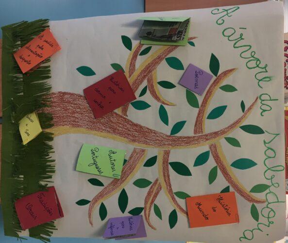 A árvore da saboderia.