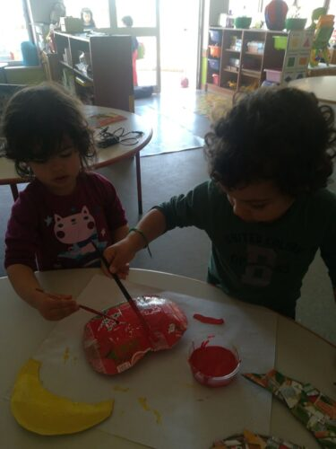 Pintura dos frutos