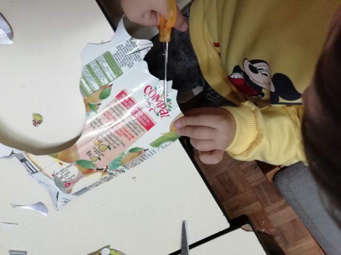 Preparação da mascarilha