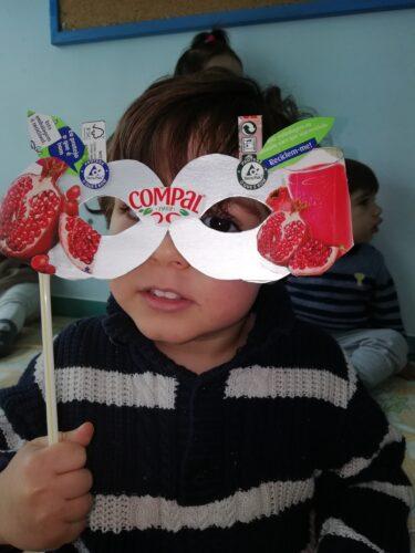 Exemplo máscara Berçário II
