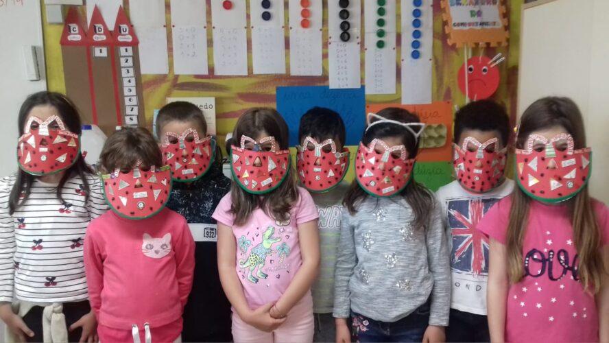 grupo de mascarados - os