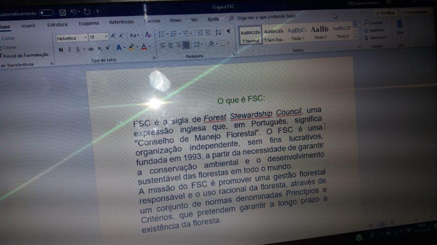Quisemos saber o que significa FSC?