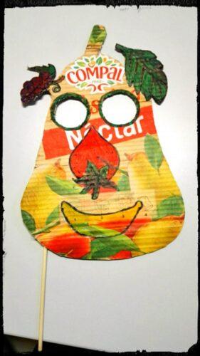 A máscara vencedora para o concurso