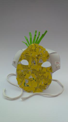 Máscara - Ananás