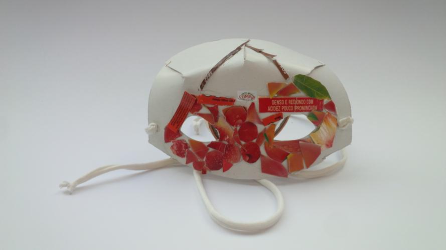 Máscara - Cerejas