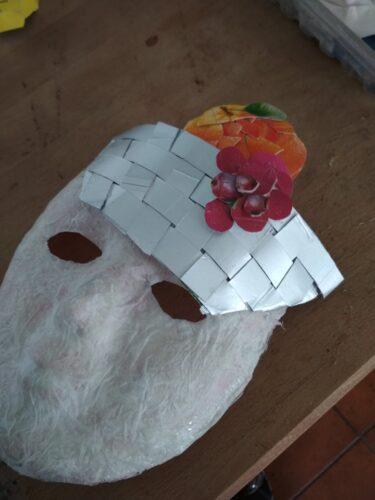 Aplicação dos recortes, alguns com sobreposição, na máscara base.
