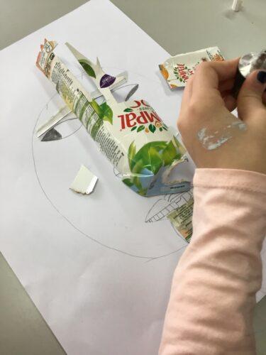 Processo 1 - manipulação de materiais