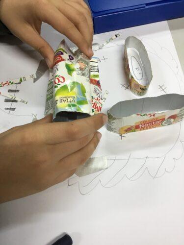Processo 2 - manipulação de materiais