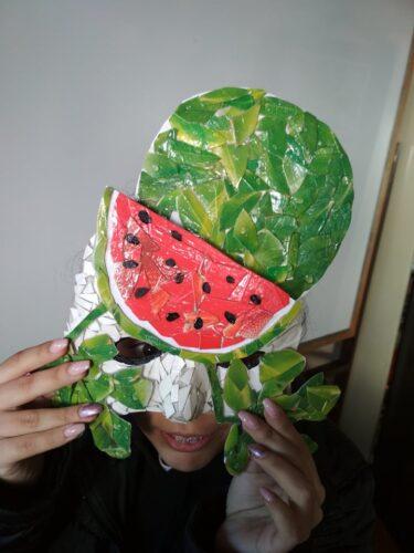 Opcional - aluno com máscara
