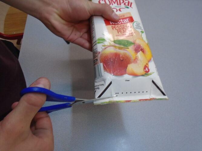 Preparação das embalagens