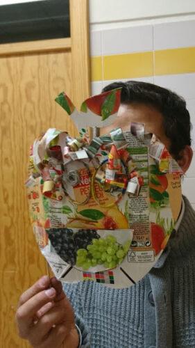 Produto final da máscara