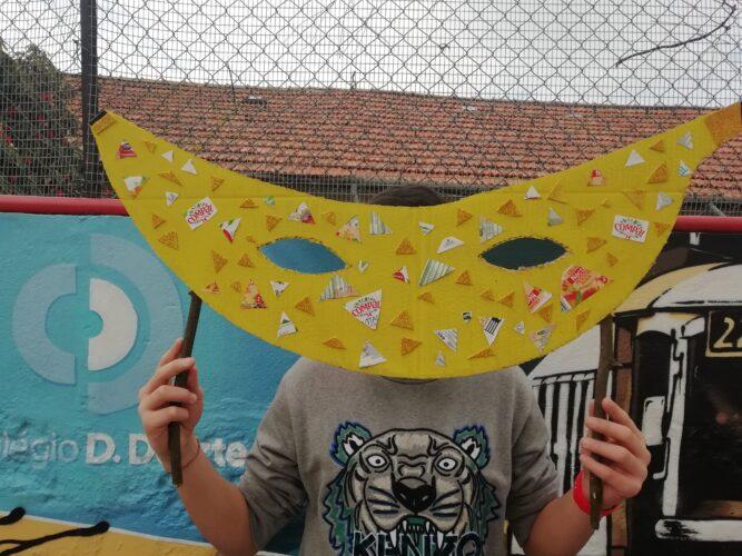 Carnaval e frutos - banana 1