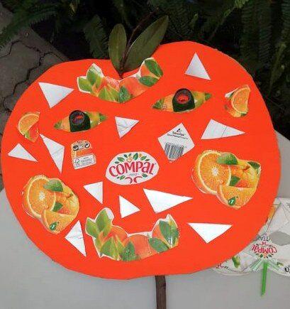 Carnaval e frutos - laranja