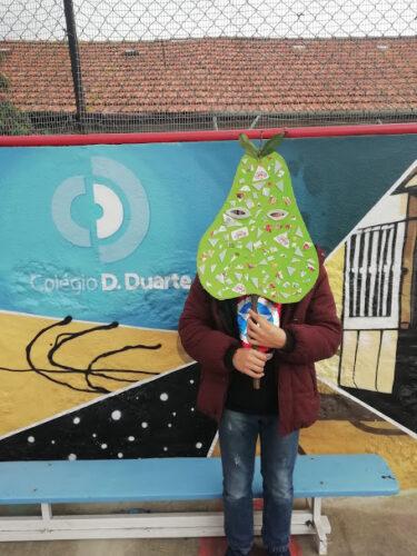 Carnaval e frutos - pera 2