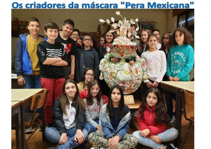 Os criadores da máscara - Pera Mexicana.