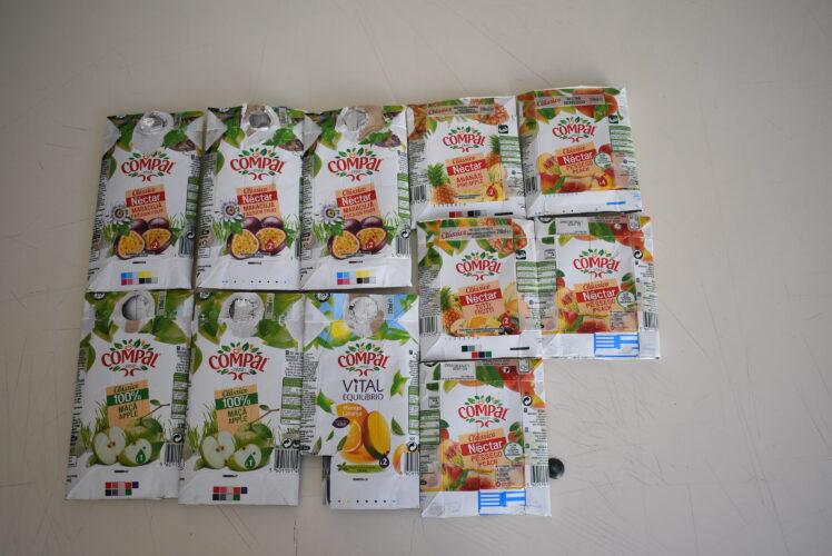 1-Preparação das embalagens