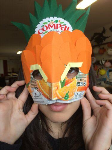 Experimentando a máscara